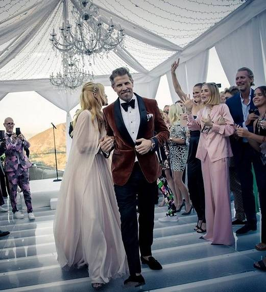 Izabella Scorupco - zdjęcia ze ślubu - Izabella Scorupco opublikowała zdjęcia ze ślubu ze szwedzkim miliarderem