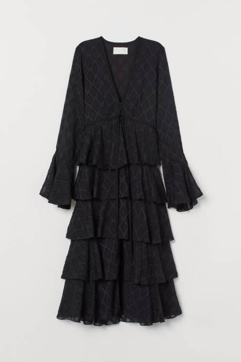 Sukienka H7M Conscious; 599,99 zł - Sukienki na Sylwestra 2019 z sieciówek: nasze typy!