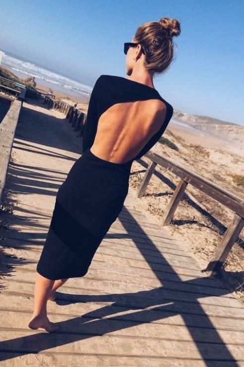 Sukienka z odkrytmi plecami The Odder Side - Sukienki bez pleców na Sylwestra 2019: gdzie znaleźć najmodniejsze?