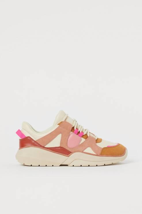 Sneakersy H&M - Trendy moda wiosna 2020: modne sportowe buty na nowy sezon
