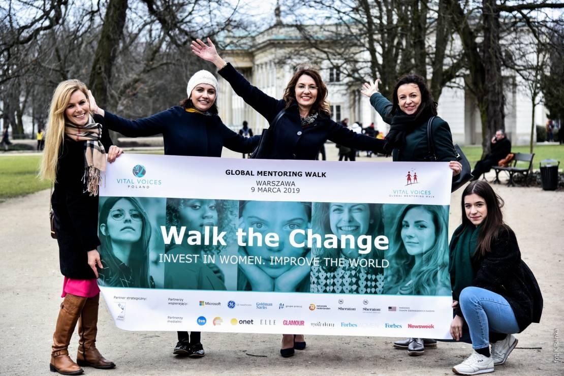 """Elżbieta Raczkowska - CEO Vital Voices - """"Przestańmy rywalizować, zacznijmy się wspierać"""" - przed nami 9. edycja Global Mentoring Walk [WYWIAD]"""