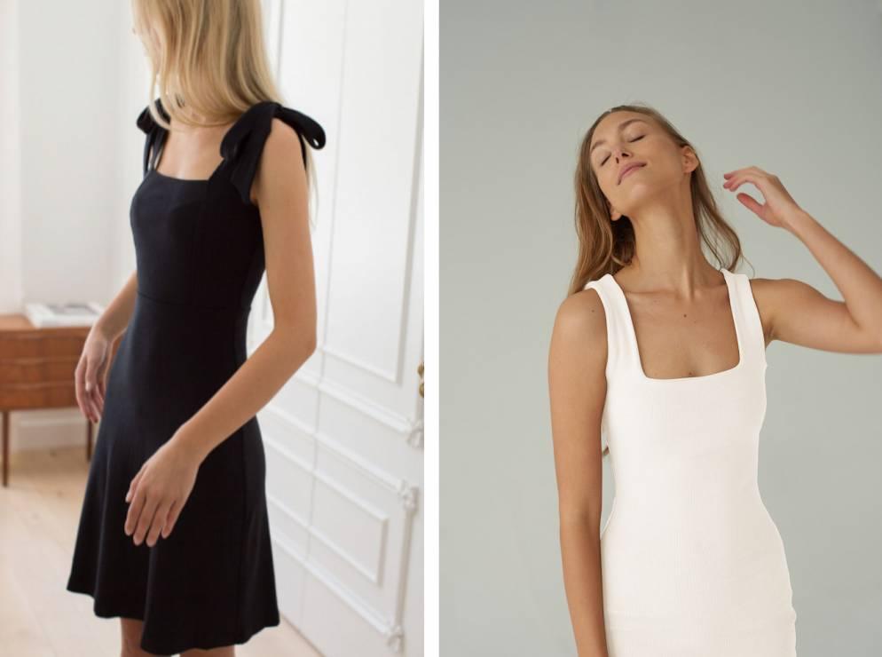Sukienki na lato - czarna i biała - Nie przepadasz za stylem Kasi Tusk. Teraz zmienisz zdanie!