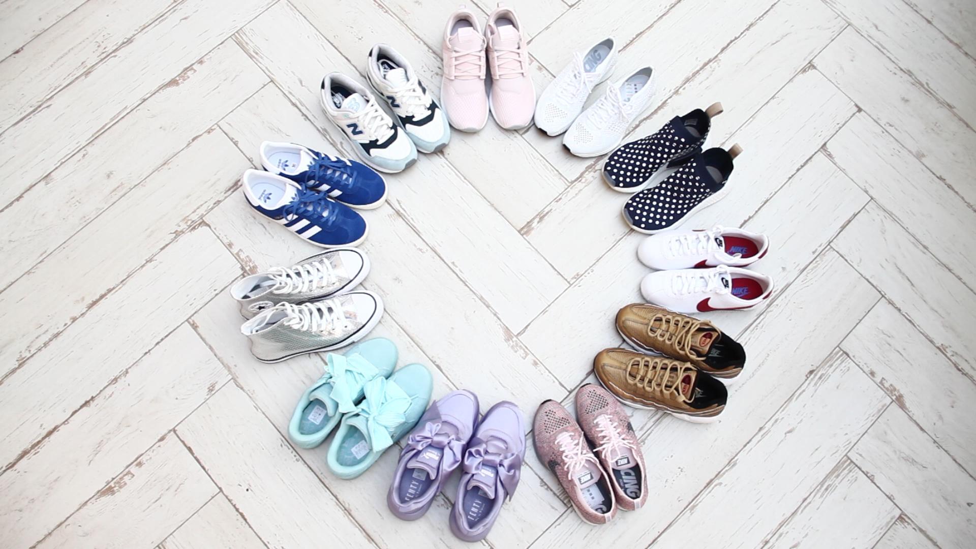 Damskie sneakersy Moda lato 2017 | HarpersBazaar.pl